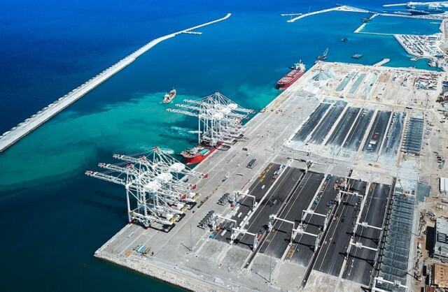Third Container Terminal in Tangier Med Port Begins Activity