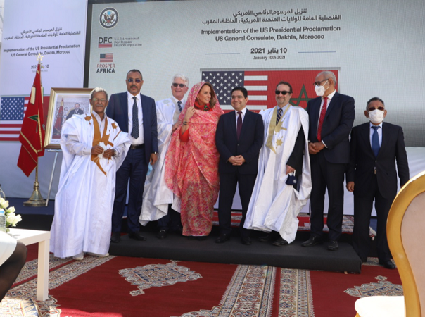 US Delegation Visits Facility of Future American Consulate in Dakhla
