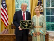 US President Donald Trump Receives Highest Award From Morocco