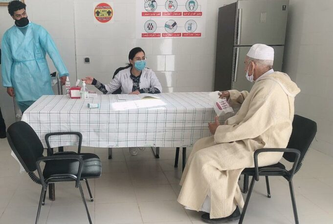 COVID-19 Vaccinations in Morocco Exceed 1.1 Million