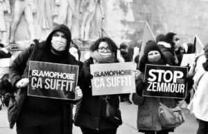 French Muslims Protest Islamophobic Bill
