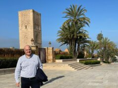 Israel's Envoy to Morocco David Govrin Enjoys Stroll in Sunny Rabat
