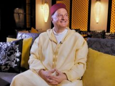 Israel's Envoy to Morocco David Govrin Poses in Moroccan Djellaba