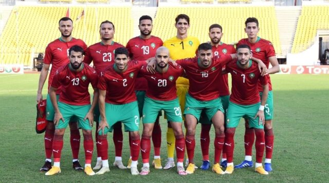 Morocco Climbs 2 Spots in FIFA Ranking, Ranks 33rd Globally