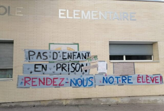 Outcry After Migrant Children Placed in French Detention Center