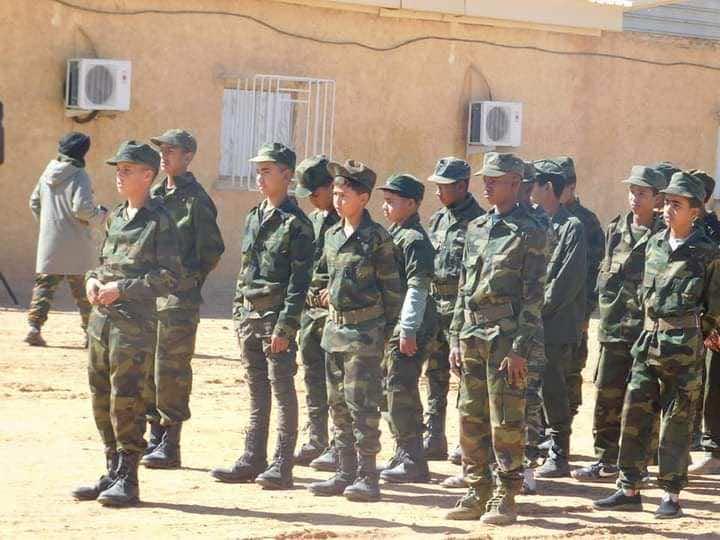 Photos Polisario Front Exploits Children in Military Parade