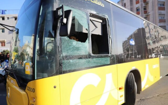 Teenagers Welcome New Casablanca Buses With Acts of Vandalism
