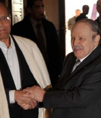 Tunisia's Marzouki Exposes Algeria's Involvement in Tunisian Affairs