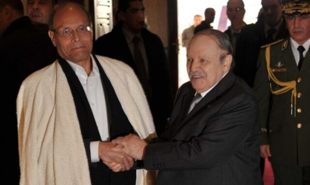 Tunisia's Marzouki Exposes Algeria's Involvement in Tunisian Affairs