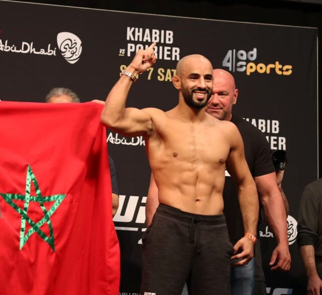 UFC Gives Moroccan Fighter Ottman Azaitar 'Second Chance'