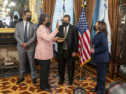 US Swears in Linda Thomas-Greenfield as Ambassador to UN