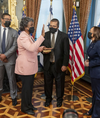 US Swears in Linda Thomas-Greenfield as Ambassador to UN