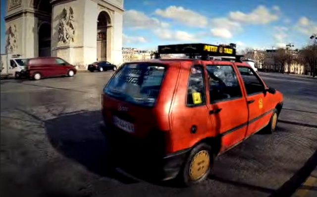 Mysterious Appearance Of Casablanca Taxi In Paris Amuses Morocco