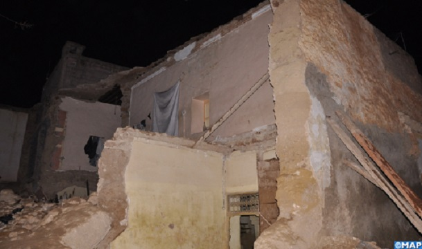 Beni Mellal: Partial House Collapse Kills Man in Central Morocco