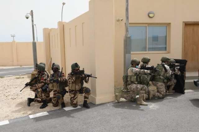 Morocco Participates in Qatari Military Exercise 'Impregnable Guard 2021'