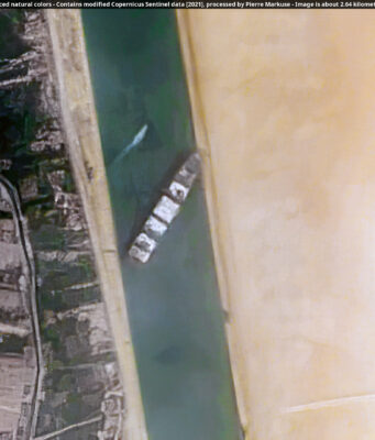 Traffic in Suez Canal Resumes As Container Ship Successfully Unstuck