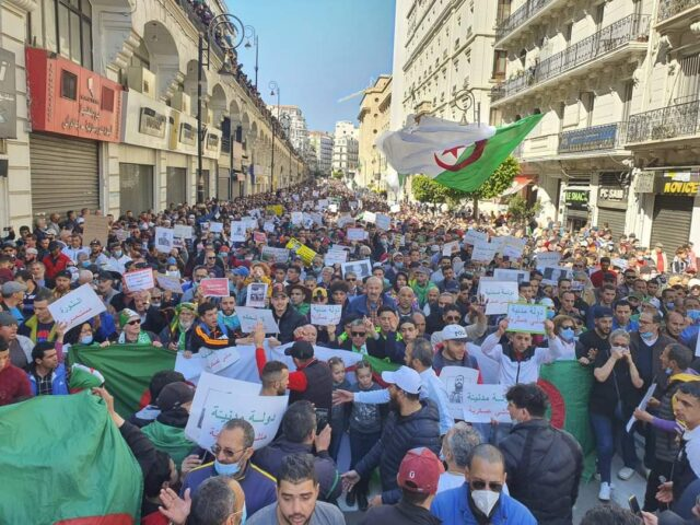 Algeria's National Hirak Protests Continue For Third Friday
