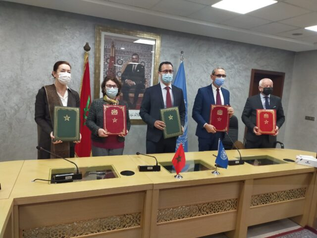Morocco, United Nations Sign Agreement to Promote Youth Development