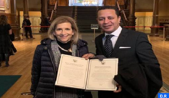 Moroccan Expatriate Receives Canadian Award for Volunteering