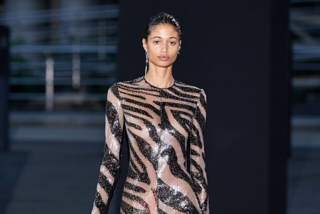 Moroccan-Italian Malika El-Maslouhi is The Face of Dundas Fall 2021 Collection