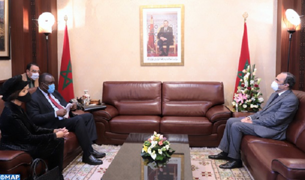 Pan-African Parliament President Applauds Morocco's COVID-19 Crisis Management