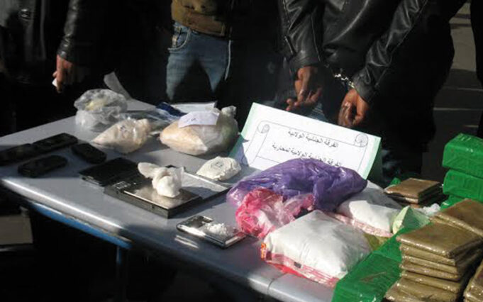 Police Arrest Four Individuals with Links to Illegal Drug Trafficking Network