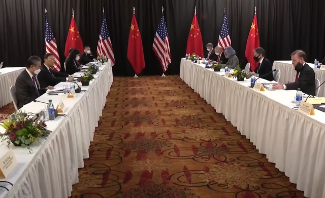 US, China Diplomats Clash In First Official Meeting In Alaska