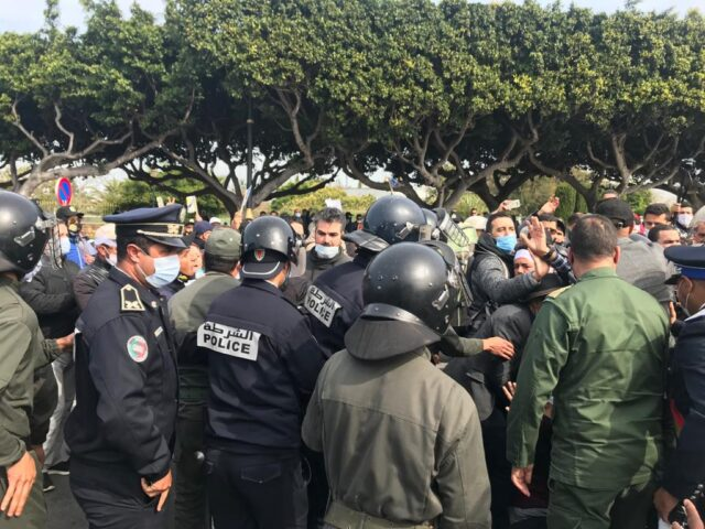 Morocco's Human Rights Council Denounces Violence at Teacher Protest