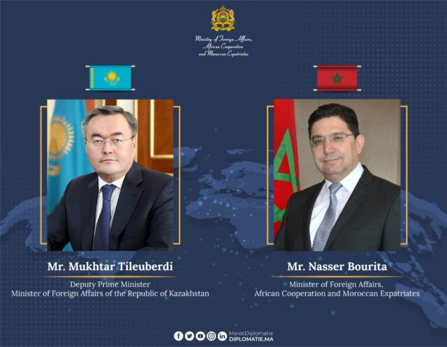 Morocco Welcomes Kazakhstan's Decision to Open Embassy in Rabat