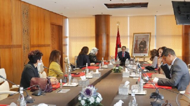 El Othmani Receives Delegation Focusing on Women Empowerment
