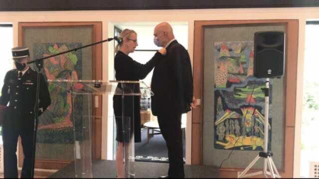 France Awards Legion of Honor Insignia to OCP's CEO Mostafa Terrab