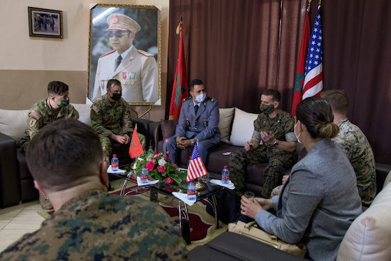 Humanitarian Mine Action 2021- Morocco, US Boost Military Cooperation