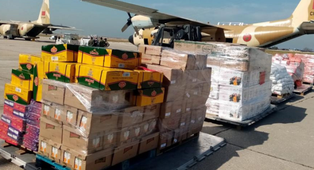 Lebanon Receives 2nd Batch of Morocco's Humanitarian Aid