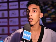 Moroccan Athlete Wins Gold at Taekwondo Competition in Spain