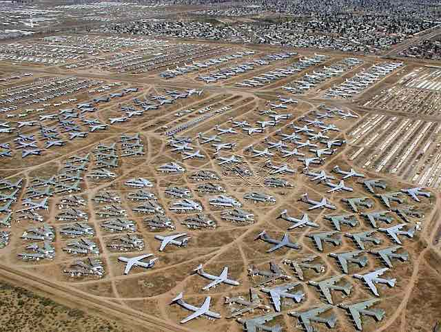 Morocco's Airport Authority Opens Bid for Aircraft Boneyard Near Oujda