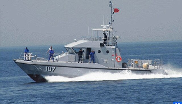 Morocco's Royal Navy Rescues 100 Irregular Migrants in Mediterranean