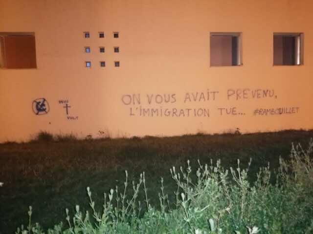 New Islamophobic, Racist Graffiti on Muslim Center in Rennes Sparks Uproar in France