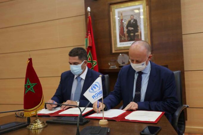 UNHCR, Morocco Sign Charter to Integrate Refugees in Education System
