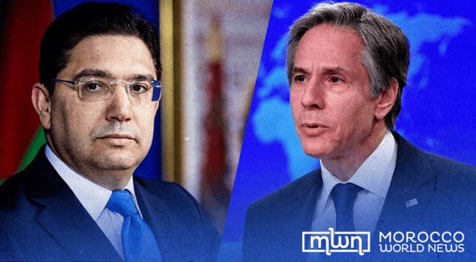 US Secretary of State Antony Blinken Holds 1st Call with Morocco's FM