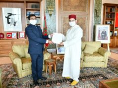 India's Ambassador to Morocco Presents Accreditation to Bourita