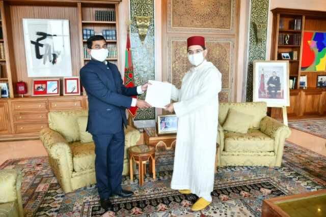 India's Ambassador to Morocco Presents Accreditation to Bourita