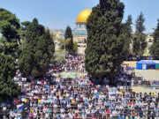 Friday Prayers Draw 70,000 Palestinians to Al Aqsa Mosque
