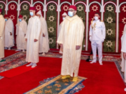 King Mohammed VI Performs Eid Al-Fitr Prayers in Fez