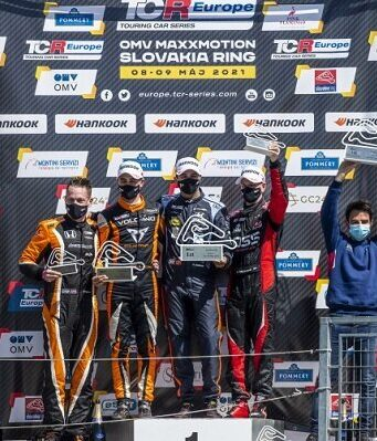 Mehdi Bennani Wins 2021 TCR Europe, Second Race in Slovakia