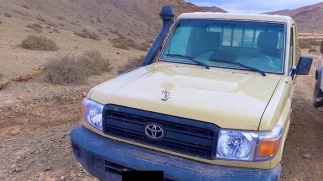 Moroccan Armed Forces Strike Two Polisario SUVs