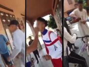 Moroccan Teenage Students Publicly Eat in Marrakech during Ramadan