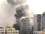 Israel Destroys Gaza Press Offices Of Al Jazeera, Associated Press