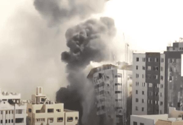 Israel Destroys Gaza Press Offices Of Al Jazeera, Associated Press