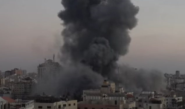 Israeli Aerial Attack On Gaza Refugee Camp Kills 8 Children, 2 Women